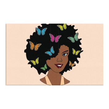 Chocolate Butterfly Afro Diva Journal