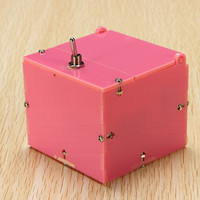 Miniature Useless Box Rapidly Response 14 Modes Rechargeable Battery De-Stress Toys Funny Novelty Toys Gift For Children