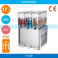 Hot And Cold Beverage Dispenser - CE, 3*12 L, 900W, 270W, TT-J123C