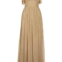 By Malene Birger | Malpensa silk-chiffon maxi dress | NET-A-PORTER.COM