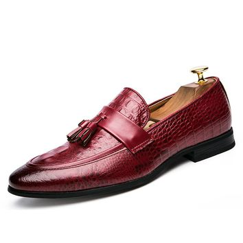 High Quality Unique Genuine Leather Loafers