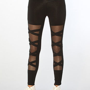 Mesh Lucky Leggings BOTB  by Hellz Bellz -LAST ONE