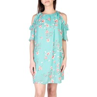Miss Blue Sleeves Short Summer Dress