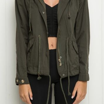 JENN HOODED JACKET
