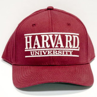 Harvard University Officially Licensed Crimson Adjustable Embroidered Hat Cap