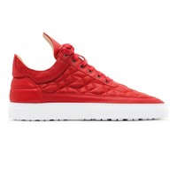 All Models : Low Top Quilted Red | Filling Pieces