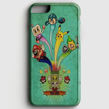 Nintendo Video Game Art iPhone 6 Plus/6S Plus Case | casescraft