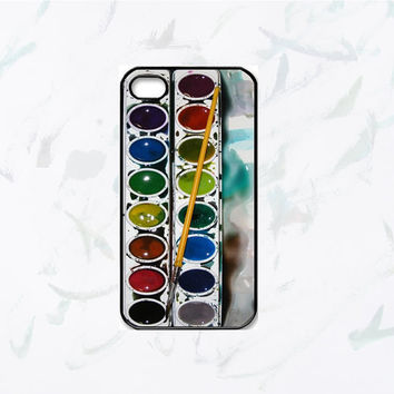 New Cool Watercolor paint set iPhone 4, iPhone 4s Painting Kit - iphone 5 cases  Cool iPhone Cases- Cool iPhone Cases- iPhone 4 iPhone 4s