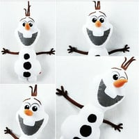 SALE Olaf Stuffed Toy, Disney Frozen Olaf Plush Toy, Olaf Snowman, Disney Movie Character Party Giveaways Decors, Gift Idea Kids Baby
