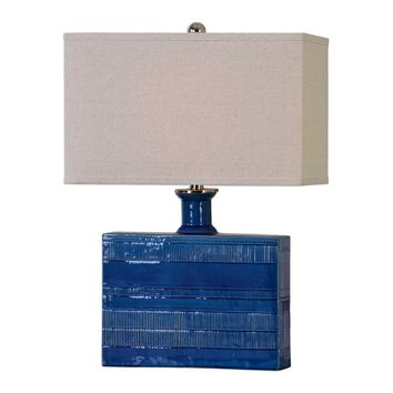 Piota Blue Table Lamp
