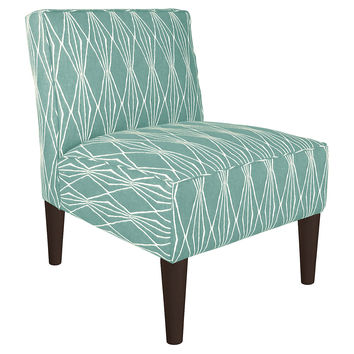 Finnegan Chair, Teal, Accent & Occasional Chairs