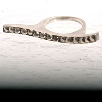 Amazing 925 Sterling Silver Wave Ring Size 6 valentine's day gift by zulasurfing