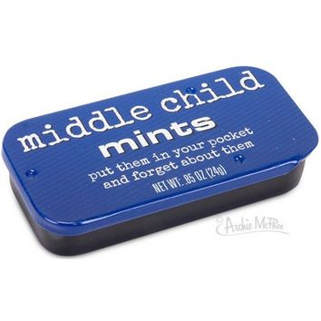 Middle Child Mints - Put Them in Your Pocket and Forget About Them!
