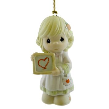 Precious Moments Teacher, You're A Precious Woman Resin Ornament