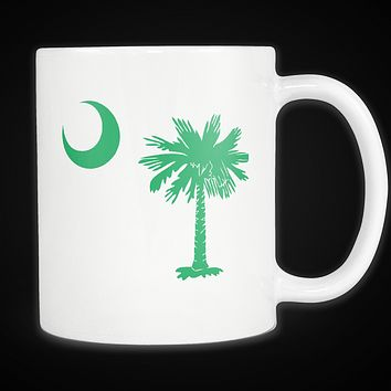 Palmetto Moon South Carolina Mug Green