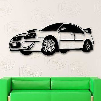 Wall Stickers Vinyl Decal Race Rally Car Great Room Decor Unique Gift (ig513)