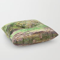 Hickory Ridge Pond Floor Pillow by Theresa Campbell D'August Art