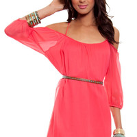 Amerie Off Shoulder Dress $52