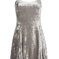 Silver Godet Dress by Topshop Finds - Dresses - Clothing