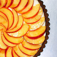 nectarine, mascarpone and gingersnap tart | smitten kitchen