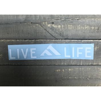 Live Life Decal