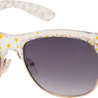 Retro Club Daisy Sunglasses