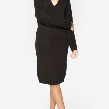 Suzette Black Sweater Dress
