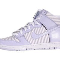 Nike Women's Dunk High Skinny - Palest Purple / Palest Purple-White, 7.5 B US