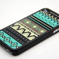 Rubber Case geometrical design case for iPhone 4 and iPhone 4s