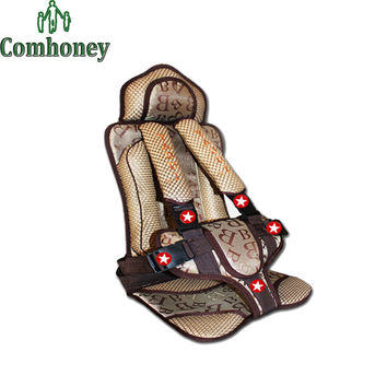 Baby Car Safety Seats Adjustable Kids Children Cushion Infant Booster Seat Cover for Cars Protection Auto Harness Carrier