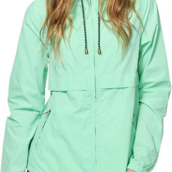 Zine Nola Mint Windbreaker Jacket