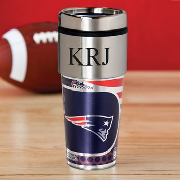 Personalized NFL Hot/Cold Tumbler 17 oz. - Patriots
