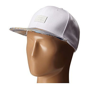 Vans Allover It Hat (White Acid Palm)