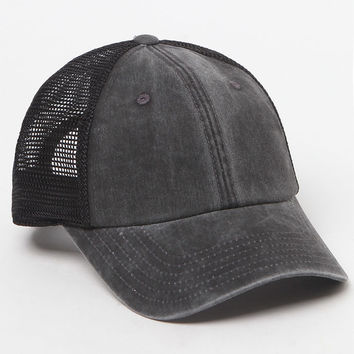 American Needle Black Mesh Back Dad Hat at PacSun.com