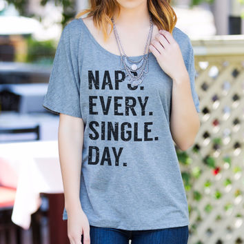 Naps. Every. Single. Day.