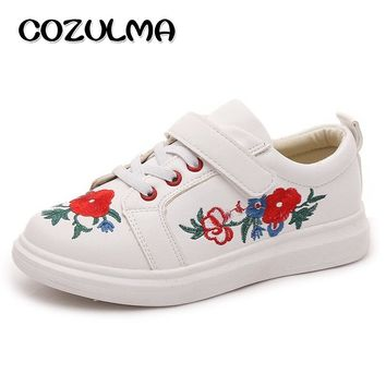 COZULMA New Spring Children Sneakers High Quality Flats Children Casual Shoes Princess Girls Shoes Kids Punk Shoes Boys Sneakers