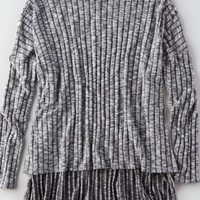 AEO Soft & Sexy Plush Turtleneck , Grey   American Eagle Outfitters
