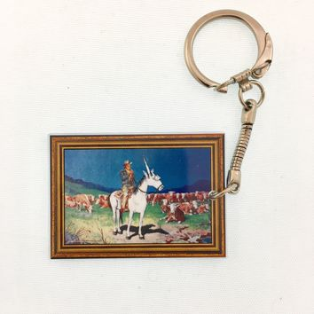 Giddy-Up Keychain