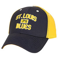 NHL Favorite Player Adjustable Baseball Hat (St. Louis Blues, TJ Oshie)