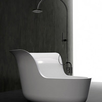 Beautiful bathtub by Marmorin ? Jena | deco NICHE make every room unique
