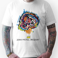 Jean Michel Basquiat Head Unisex T-Shirt