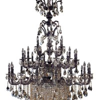 Avelli 41 Light Chandelier W/Swarovski Crystal