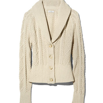 Women's Signature Cotton Fisherman Cardigan Sweater | Free Shipping at L.L.Bean