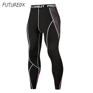 Men's compression tights Leggings Run jogging sports fitness bodybuilding Crossfit base layer training quick-drying sweatpants