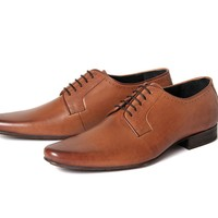 Larkin Grain Tan ($160.00) - Larkin is the grandson of the H Classic Ellington. A classic mens leather formal shoe, Larkin has a clean and crisp vamp. Subtle details have been added with a single punched hole pattern around the topline, and the use of a ma