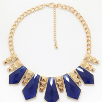 Geminite Necklace - Royal Blue