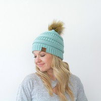 Adult CC Pom Beanies - Lots of Colors!