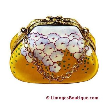 PURSE HYDRANGEA LIMOGES BOX