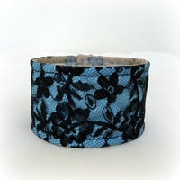 Reversible Cuff Bracelet Gift Choose Your Fabrics Free Shipping