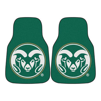Colorado State Rams NCAA Car Floor Mats (2 Front)
